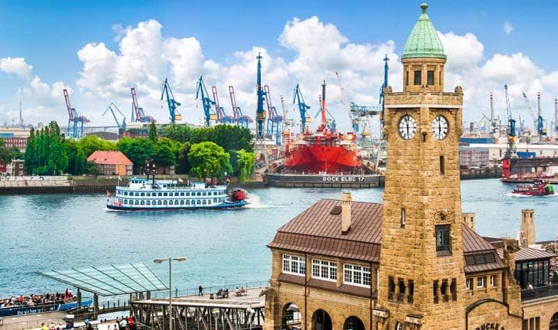 Hamborg som feriedestination